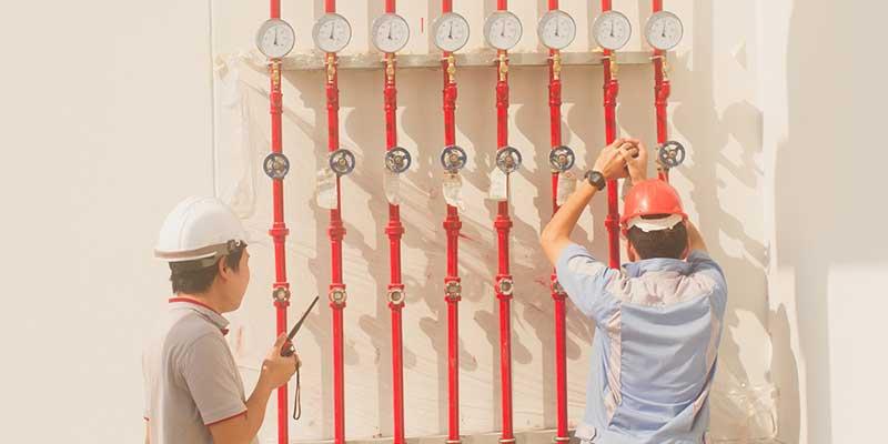 fire sprinkler system control