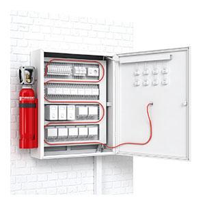 Firetarce Type Fire Suppression System